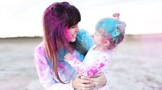 Pink Powder For Gender Reveal Gender Reveal Powder Bomb, Holi Powder, Having A Blast, New Parents, Little Princess, One Color, Pink Blue, Vibrant, Photoshoot