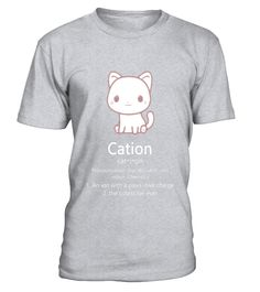 Science Cat T-Shirt Funny Pun Pawsitive Chemistry Meaning - Limited Edition  Funny Science T-shirt, Best Science T-shirt
