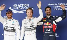 Nico Rosberg seals pole ahead of Lewis Hamilton at US Grand Prix #DailyMail