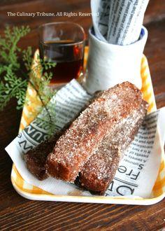 Cinnamon Bread Sticks シナモン揚げパンスティック