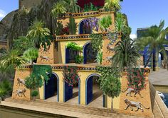 Museum Island - Hanging Gardens of Babylon by [ Annaluisa ], via Flickr