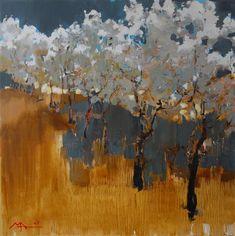 ☼ Painterly Landscape Escape ☼ landscape painting by Alina Maksimenko