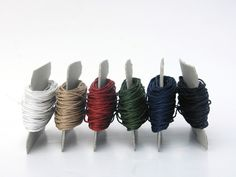 Paper Twines: Set of 6 Classical Colored Twines by PaperPhine