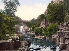 Jesmond Dene, Old Mill, Newcastle-on-Tyne-England