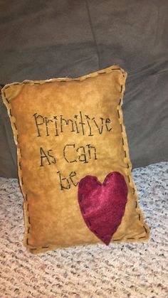 Primitive+pillow+by+uniqueprims+on+Etsy,+$11.00