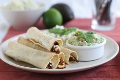 Chipotle Beef Baked Taquitos - Taste and Tell
