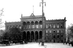 Berlin i- Der Potsdamerbahnhof, um 1902.