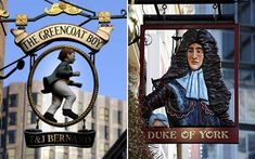 a royal act in england in 1393 made it compulsory for inns to have signs