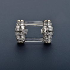 Rene Boivin Diamond Crystal Brooch