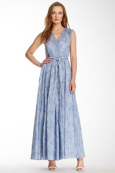 Sleeveless Flutter Maxi Dress by Marchesa on @nordstrom_rack