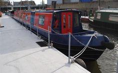 London Canal Boat Transformation - Designer Furniture at Designer Living Designer Living, Canal Boat, Small Places, Furniture Design, London, London England