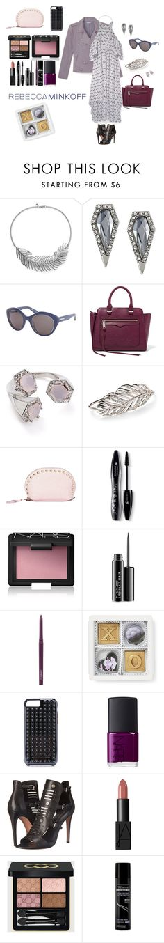 """""""Rebecca  Minkoff"""" by southindianmakeup1990 ❤ liked on Polyvore featuring Rebecca Minkoff, Lancôme, NARS Cosmetics, MAC Cosmetics, Gucci, TRESemmé, women's clothing, women, female and woman"""