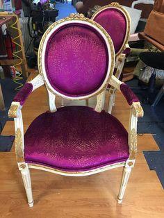 Regal purple chair