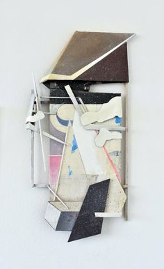 KB 07 by Marko Tusek : Other media Acrylic, Collage, Spray paint, Objects on Paper - Singulart Modern Art, Contemporary Art, Art Object, Box Frames, Objects, Collage, Paintings, Paper, Artist
