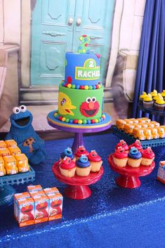 Sesame Street Birthday Party Ideas | Photo 1 of 36