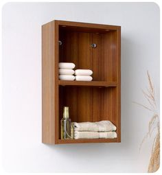 Bathroom Linen Side Cabinet with 2 Open Storage Areas on Wayfair