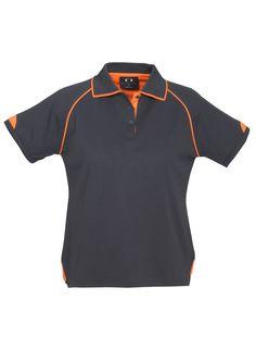 Code: BCP29022 Name: Ladies Fusion Polo BCP29022 Size: 12 | 14 | 16 | 18 | 20 | 22 | 24 | 10 | 8 | 6 Available Colours: Grey/Fluro Orange | Navy/Fluro Orange |