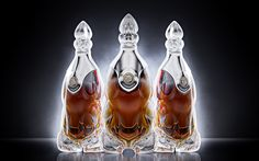 Cognac concept II. by Ivan Venkov exploring sculptural aesthetics in crystal glass.