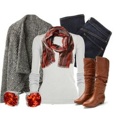 How do I not own cognac boots?? I have this outfit, need these boots!!