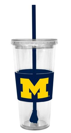 Sip from something special on game day with a logo cup. Comes in other team names/colors!