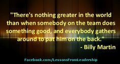"Sports quote- ""There's nothing greater in the world..."" Visit our website at http://LessonsFromSports.com; Like us on Facebook at http://Facebook.com/LessonsFromSports; and join us on Twitter @lessonsSports"
