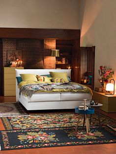Bedroom, Bohemian style by Pfister
