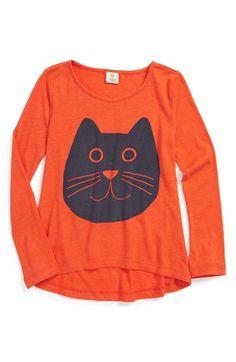 Free shipping and returns on Tucker + Tate 'Rosa' Long Sleeve Graphic Tee (Toddler Girls, Little Girls & Big Girls) at Nordstrom.com. A cute cartoon critter fronts a scoop-neck tee styled with long sleeves and finished with a curved high/low hemline.