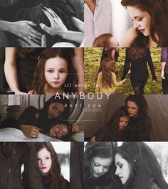 """30 Days Of Forever - Day 5 - Favorite Quote - """"I'll never let anybody hurt you."""" Breaking Dawn Part 2, Bella Cullen"""