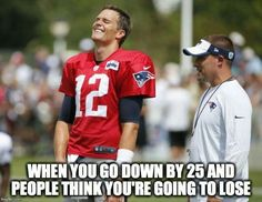 """After we've seen numerous people comment that they were done with football and done with the Patriots, I laughed. I laughed because I knew every single """"boycotter"""" was a liar. Boycotting seemed Pat… Nfl Memes, Football Memes, Football Season, Nfl Football, American Football, Football Players, New England Patriots Football, Patriots Fans, Broncos Fans"""
