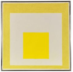 View Study for Homage to the Square Two Yellows with Silvergray by Josef Albers on artnet. Browse upcoming and past auction lots by Josef Albers. Josef Albers, Coloring Books, Study, Yellow, Artist, Cubes, Colors, Art, Auction
