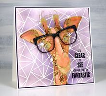 """Tussa E-post :: """"It's in the Bag!"""" by ...all the GOOD blog na... Giraffe Images, Penny Black Stamps, Kids Birthday Cards, Cursed Child Book, Paper Roses, Cool Cards, Kids Cards, Stencils, Pretty"""