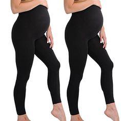 Bellybutton Maternity leggings black supporting pregnancy leggings brown
