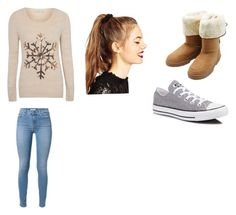 """""""Simply cute!!"""" by rebaca on Polyvore featuring George, Converse, M&Co and ASOS"""