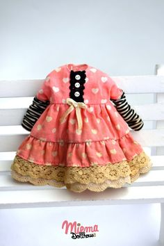 DRESS vintage Style for Blythe by Miema Dollhouse par miema4dolls