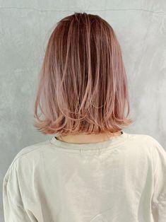 「29782」今、日本で一番予約されているサロン♪ インスタフォロワー49万人突破!【@album_hair】予約はホットペッパービューティーから♪ #ボブ #桑原大貴 #ALBUM_HARAJUKU #ウェーブ #ショート #hair #hair_color #makeup #hairstyles #スタイリング #ヘアスタイル #ヘアカラー #原宿 #ピンクベージュ #ミディアム Kawaii Hairstyles, Bob Hairstyles, Head Head, New Hair, Hair Inspiration, Short Hair Styles, Stylists, Hair Color, Hair Beauty