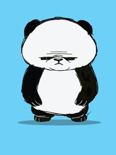 Big Panda Art Print by KiraTheArtist | Society6