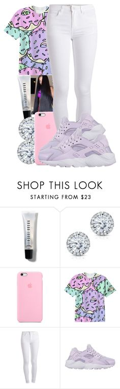 """""""Full of hope"""" by pimpcessjayyy ❤ liked on Polyvore featuring Bobbi Brown Cosmetics, Kobelli, Pieces and NIKE"""