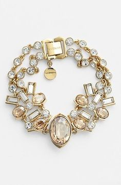 Shop Women's Givenchy Bracelets on Lyst. Track over 1871 Givenchy Bracelets for stock and sale updates. Jewelry Box, Jewelry Accessories, Fashion Accessories, Fashion Jewelry, Jewelry Design, Crystal Bracelets, Bangle Bracelets, Bangles, Diamond Bracelets