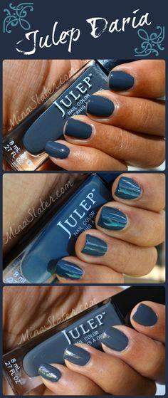 Julep Nail Polish swatches – Daria | direct sunlight; indirect sunlight; inside no flash