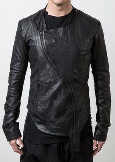 Delusion Lock & Key Leather Jacket Black