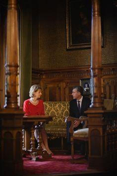 Princess Margarita of Romania and Prince Radu - Peles Castle, Sinaia (Principesa Margareta a Romaniei si Principele Radu - Castelul Peles, Sinaia)