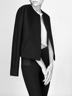 Chic Minimal Tailoring - minimalist fashion, understated style // NON