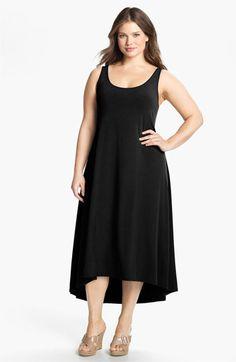 5b7ac883810 Eileen Fisher Matte Jersey Tank Dress (Plus Size)
