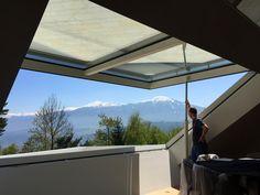 AXAAR®-Glaselemente bieten einzigartige Freiheiten für urbane Dachlandschaften Outdoor Decor, Home Decor, Building Systems, Roof Window, Balcony, Sound Proofing, Trelleborg, Architectural Materials, House Interior Design