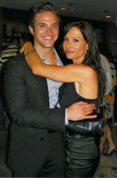 Zaccara (siblings?) Johnny and Claudia.  We find out Claudia is really Johnny's mother