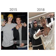 Still brothers and best friends throughout the years Cameron Alexander Dallas, Cameron Dallas, Famous Guys, Jack Gilinsky, Nash Grier, Jack Johnson, Jack And Jack, Magcon Boys, Instagram Models