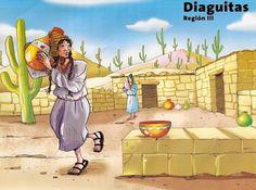 Dibujos de pueblos originario de Chile para niños | conozcamos chile