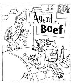 Agent en de boef - Illustratie: Kees de Boer