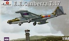 E.E. Canberra T.Mk.17. A Model, 1/144, injection, No.1430. Price: 12,20 GBP.