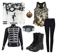 """The Black Parade/MCR"" by bandfreakhannah ❤ liked on Polyvore featuring Giorgio Armani and yeswalker"